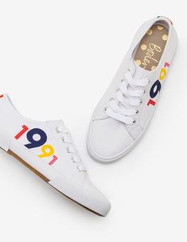 Multi Canvas Sneakers