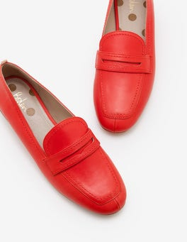 Red Pop Georgina Loafers