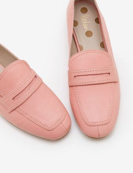 Chalky Pink Georgina Loafers