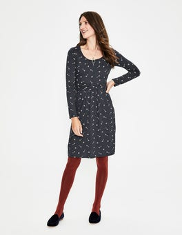 Whale Grey Trinket Mabel Jersey Dress