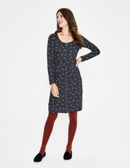 Walgrau, SchmuckstückMabel Jerseykleid