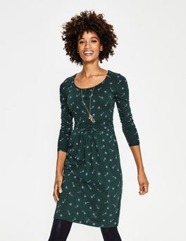 Chatsworth Green Trinket Mabel Jersey Dress