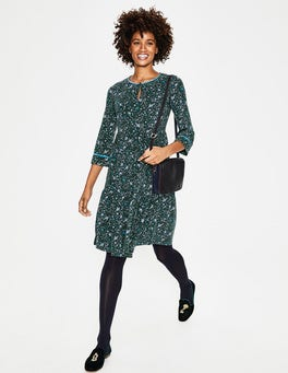 Chatsworth Green Woodland Claire Jersey Dress