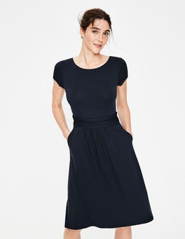 Navy Amelie Jersey Dress