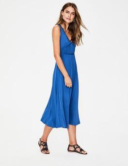 Cobalt Elina Jersey Midi Dress