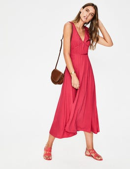 Sunset Elina Jersey Midi Dress