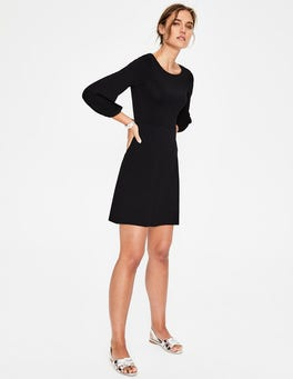Black Lucie Jersey Tunic