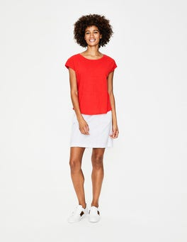 Red Pop The Cotton Tee