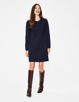 Navy  Cynthia Dress
