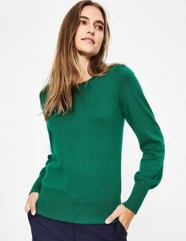Forest Green Antonia Jumper
