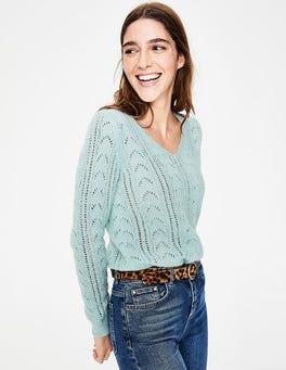 Pastel blue Charlotte Sweater