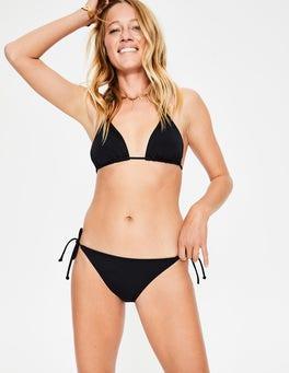 Black String Bikini Bottoms