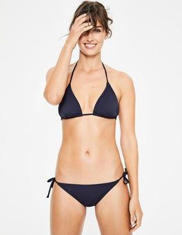 Navy Bikinihose mit Bändern