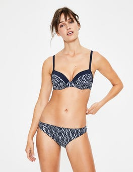 Ink/Ivory Spot Mix & Match Bikini Bottoms