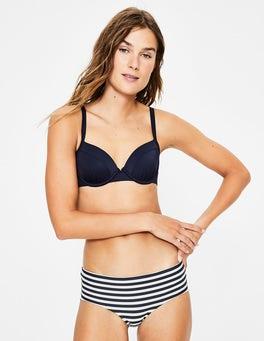 Navy/Ivory Stripe Mix & Match Bikini Shorts