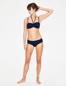 Navy Sardinia Bikini Top