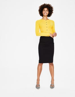 Black Hampshire Ponte Skirt