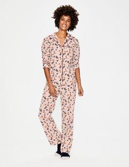 Milkshake Top Hat Robin Cosy Woven Pyjamas