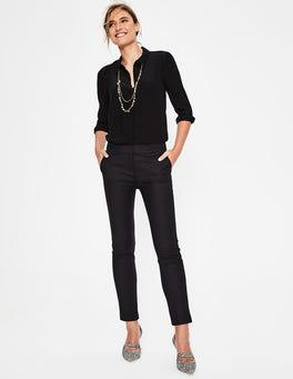 Black Richmond 7/8 Trousers