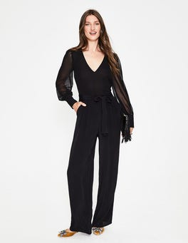 Black Belgrave Jumpsuit