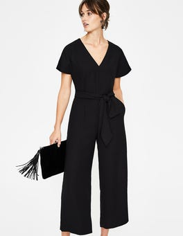 Black Romilly Jumpsuit