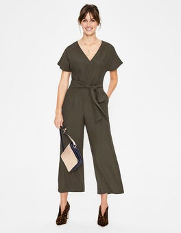 Classic Khaki Romilly Jumpsuit