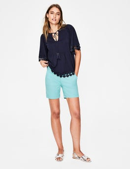 Heron Blue Helena Chino Shorts