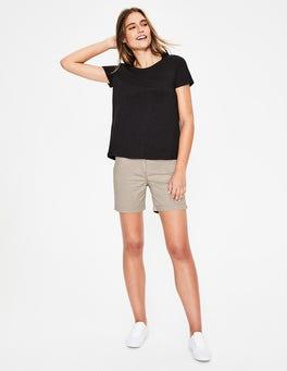 Soft Stone Helena Chino Shorts
