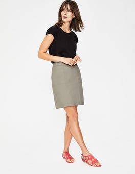 Soft Stone Helena Chino Skirt