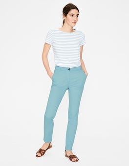 Heron Blue Helena Chino Trousers