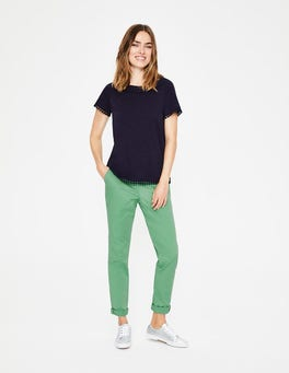 Dusty Green Helena Chino Trousers