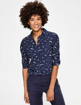 Navy and Blush, Cosmic Modern Classic Shirt