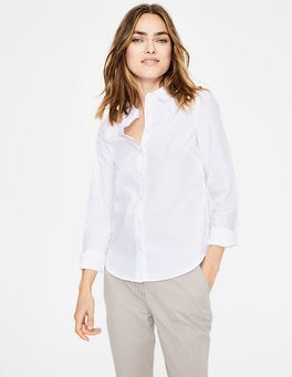 White Modern Classic Shirt