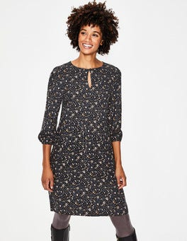 Whale Grey, Stylised Nerissa Dress