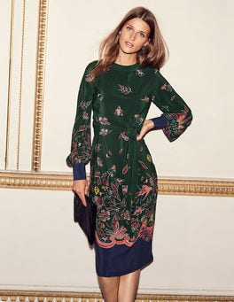 Bonnie Silk Midi Dress