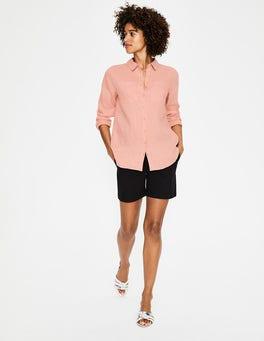 Chalky Pink Linen Shirt