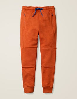 Autumn Maple Orange Warrior Knee Joggers