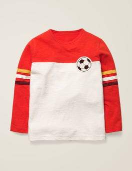 Rocket Red/Ivory Football Football T-shirt