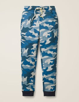Grey Marl/Blue Camo Everyday Joggers
