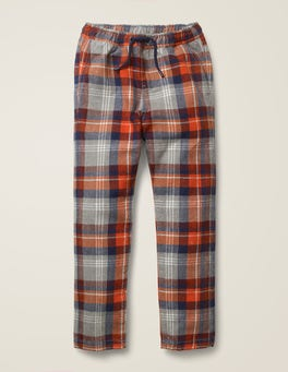 Grey Marl/Rocket Red Relaxed Slim Pull-on Pants