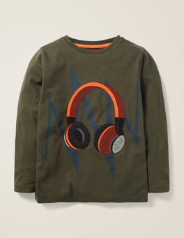 Music Appliqué T-shirt