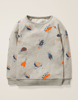 Fun Printed Sweatshirt