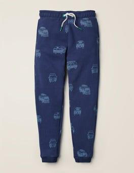 Camping-cars bleu universitaire Pantalon de survêtement décontracté imprimé