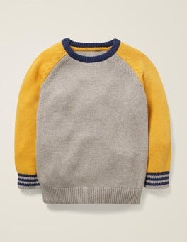 Colourblock Crew Sweater