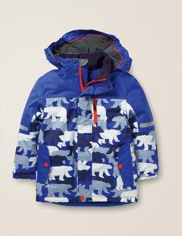 College Blue/Polar Bear All-Weather Waterproof Jacket