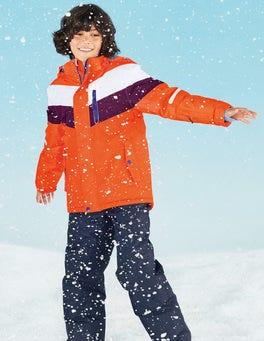 Techno Orange All-Weather Waterproof Jacket