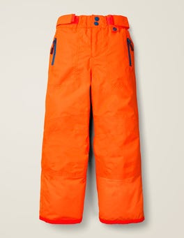 Techno Orange All-Weather Waterproof Pants