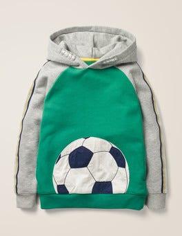 Hike Green Football Football Hoodie