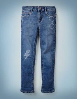Lightning Bolt Slim Jeans