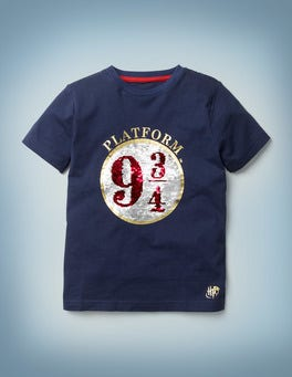 Platform 9 3/4 Sequin T-shirt